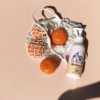 Mandarin és málna természetes testápoló krém