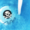 Kalózparty fürdőbomba