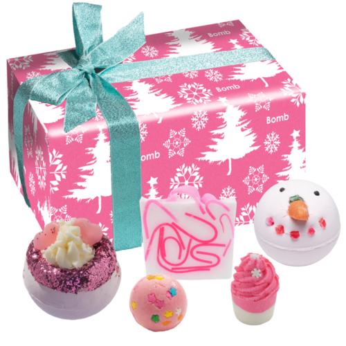 Rózsaszín karácsonyi álom ajándékcsomag