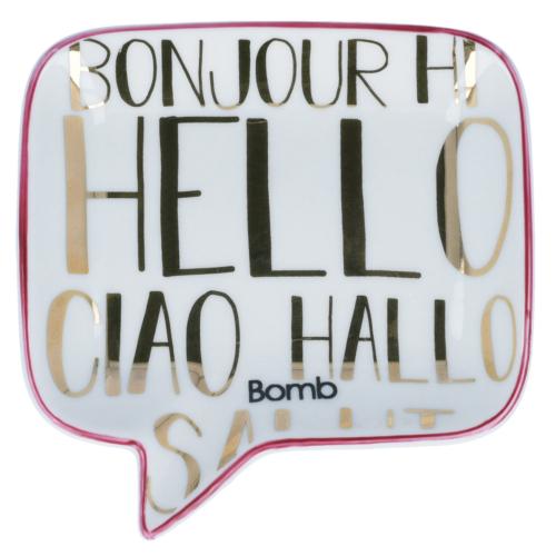 Hello, Ciao, Bonjour! szappantartó