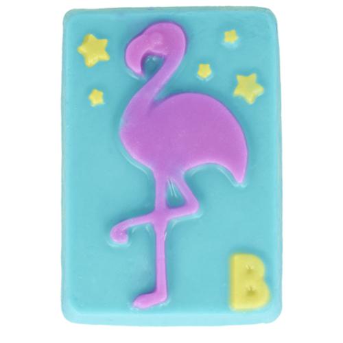 Flamingó forma szappan