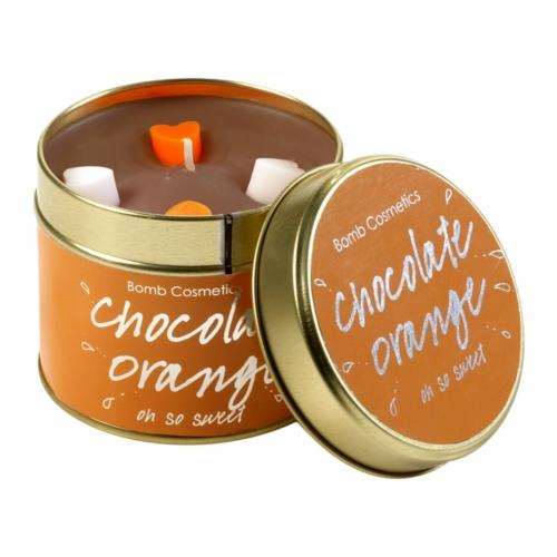 Csoki narancs gyertya