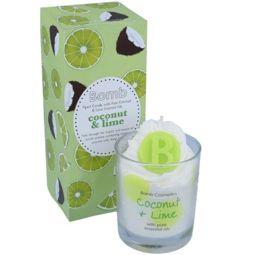 Trópusi illatok üveges gyertya
