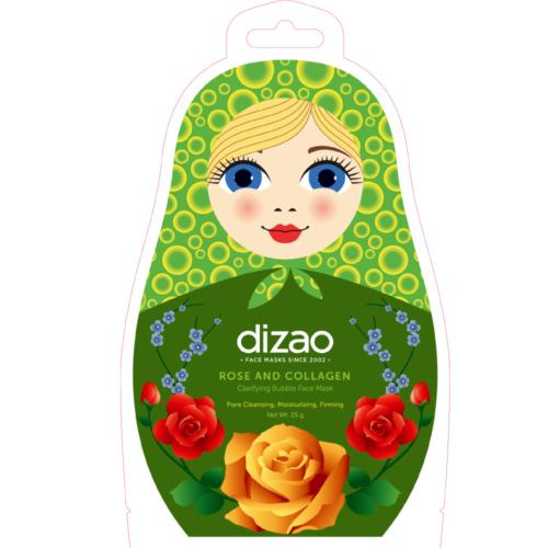 Tisztító rózsa és kollagén buborék maszk